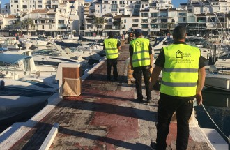 Restoration of the piers in Puerto Banus - homeandhelp.com