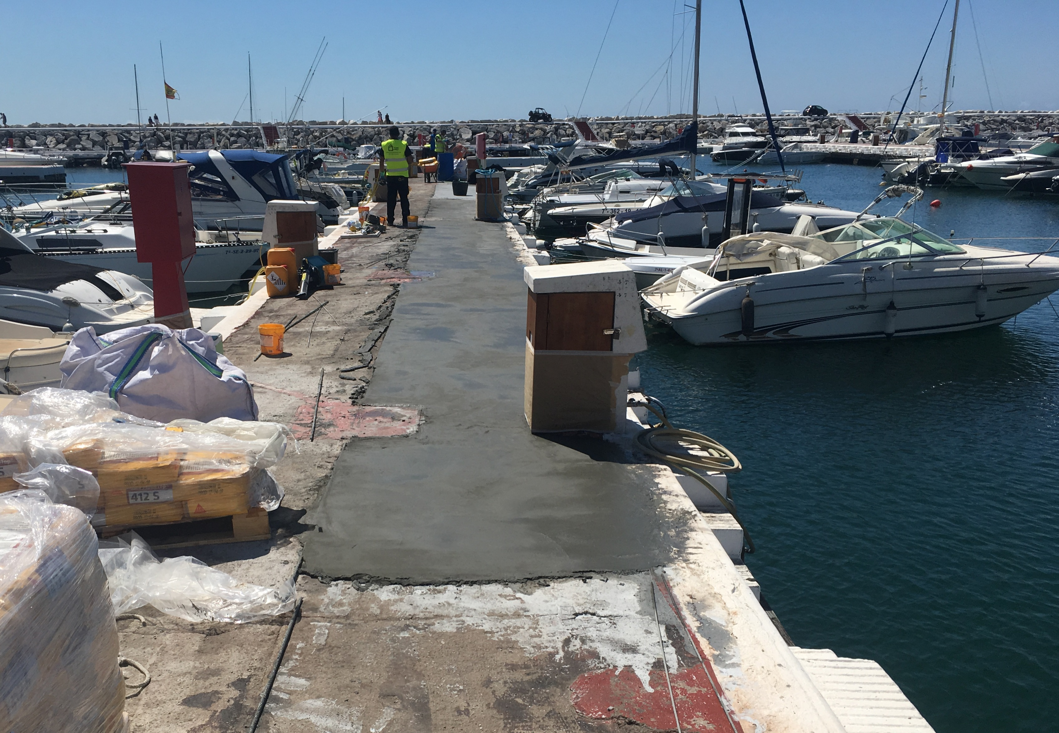 Restoration of the piers in Puerto Banus - s4 - homeandhelp.com