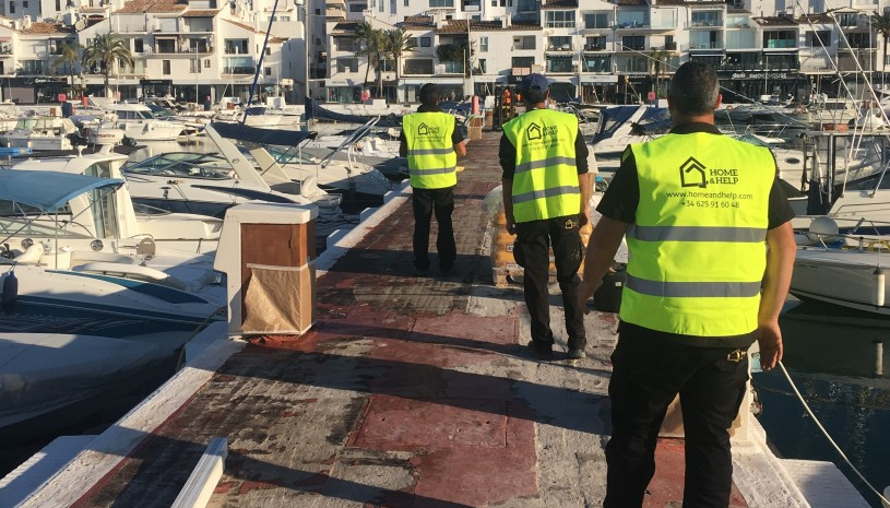 Restoration of the piers in Puerto Banus - 1 - homeandhelp.com