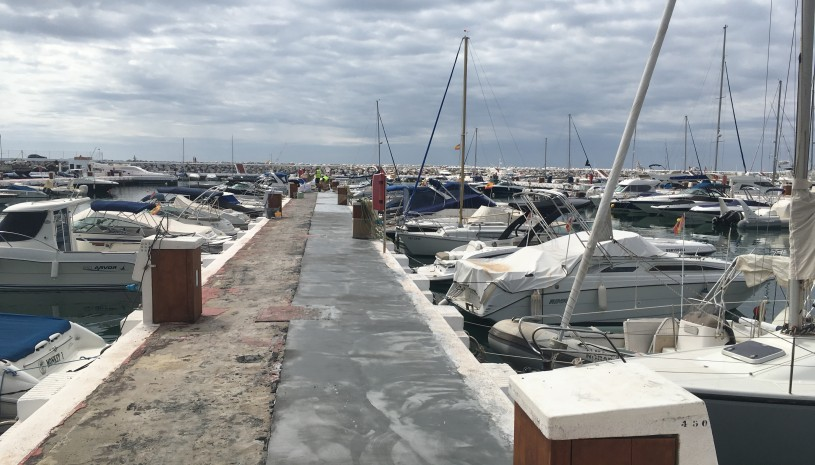 Restoration of the piers in Puerto Banus - 5 - homeandhelp.com