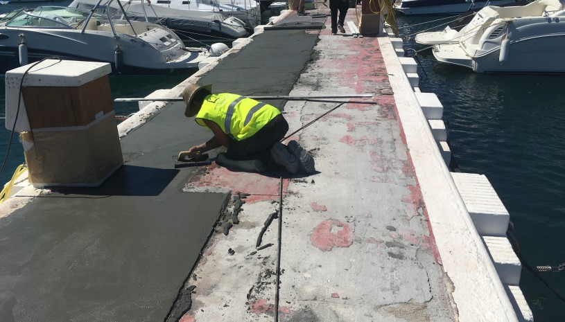 Restoration of the piers in Puerto Banus - 2 - homeandhelp.com