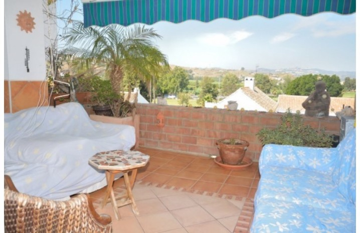 Frontline Golf Apartment In Mijas