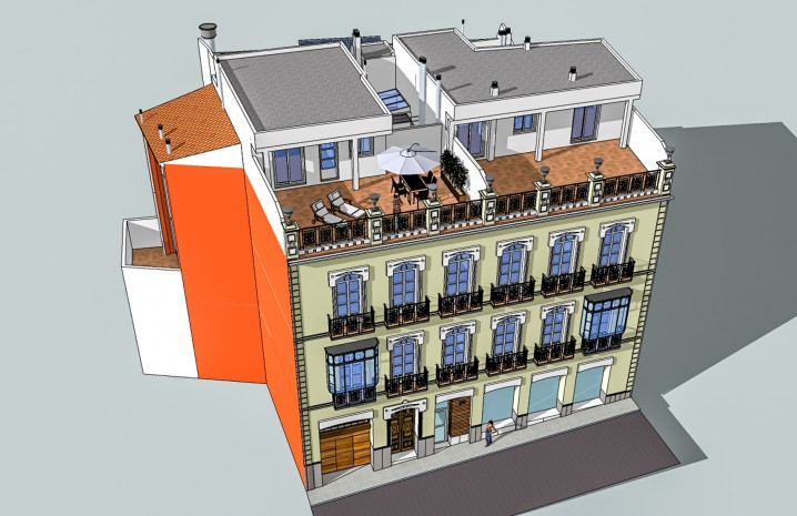 Plot with Historical Building in the Center of Algeciras - 6 - homeandhelp.com